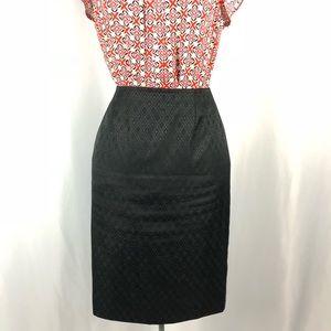 Black Amanda Smith Business Pencil Skirt